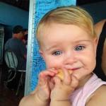Feeding a fussy baby whilst travelling around the world