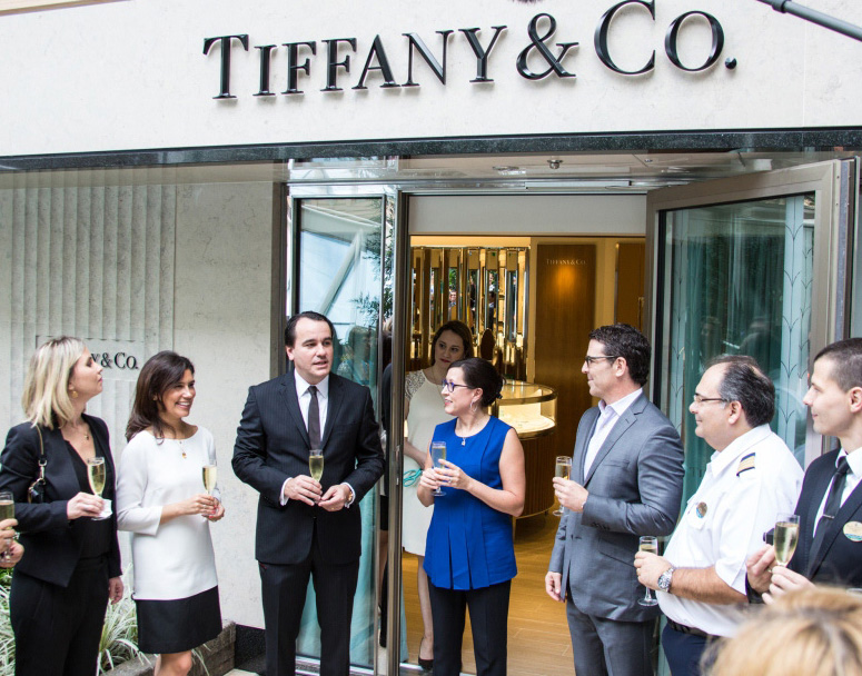 Tiffany  Co introduces first boutique at sea aboard Royal