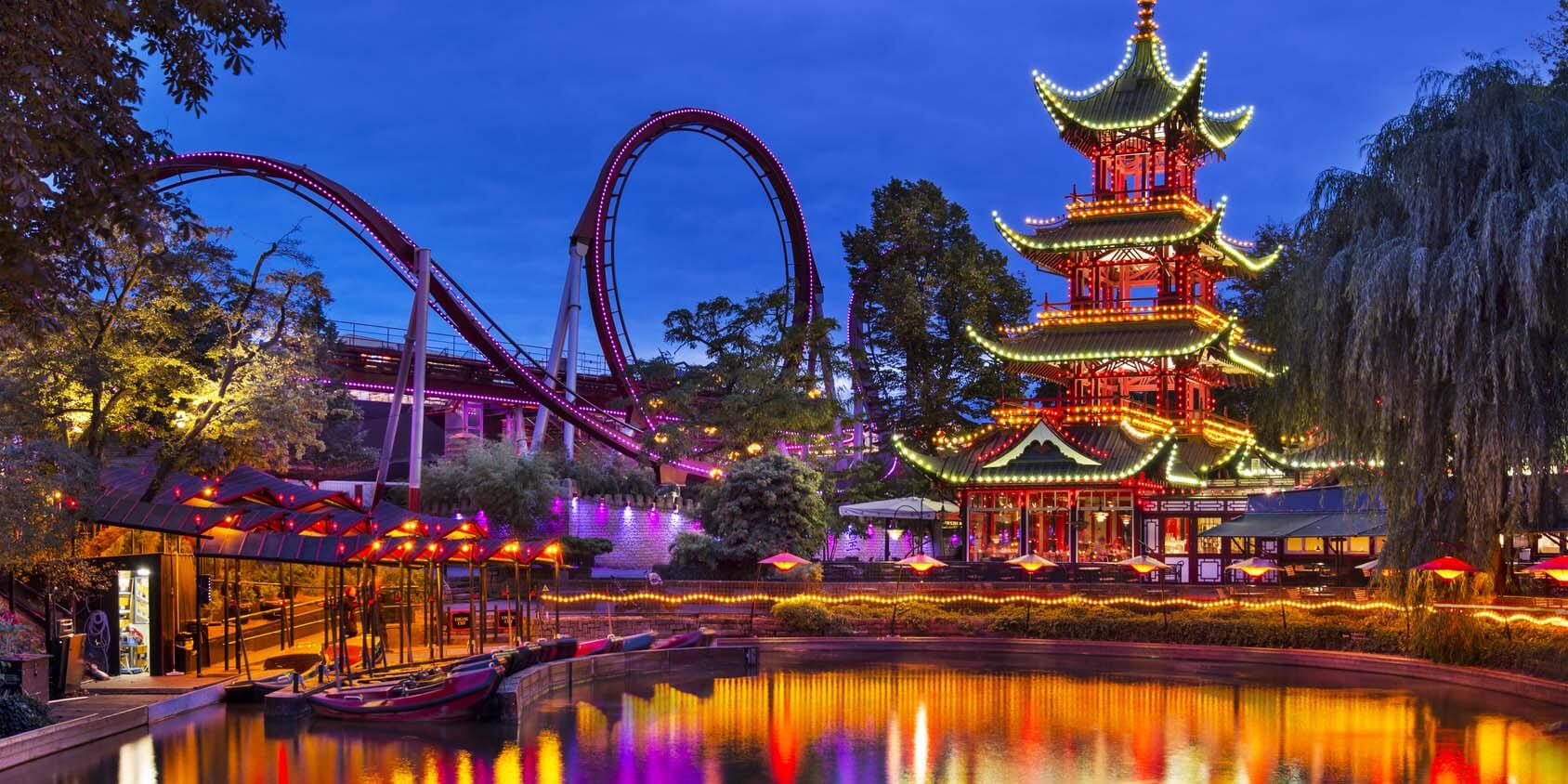 Tivoli Ny Images Destination Attraction Tivoli Gardens Denmark