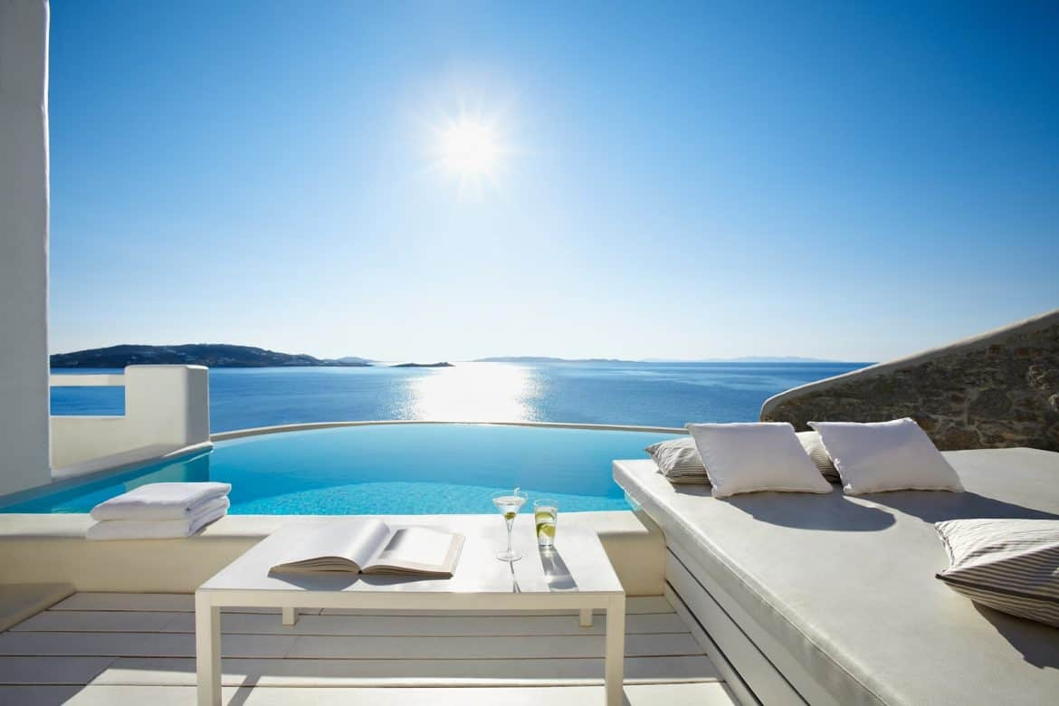 Jacuzzi Pool Preise The Best Mykonos Hotels With Private Pools Travelpassionate