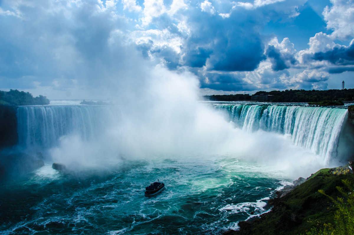 Niagara Falls Moving Wallpaper Niagara Falls From The Canadian Side Travel Past 50