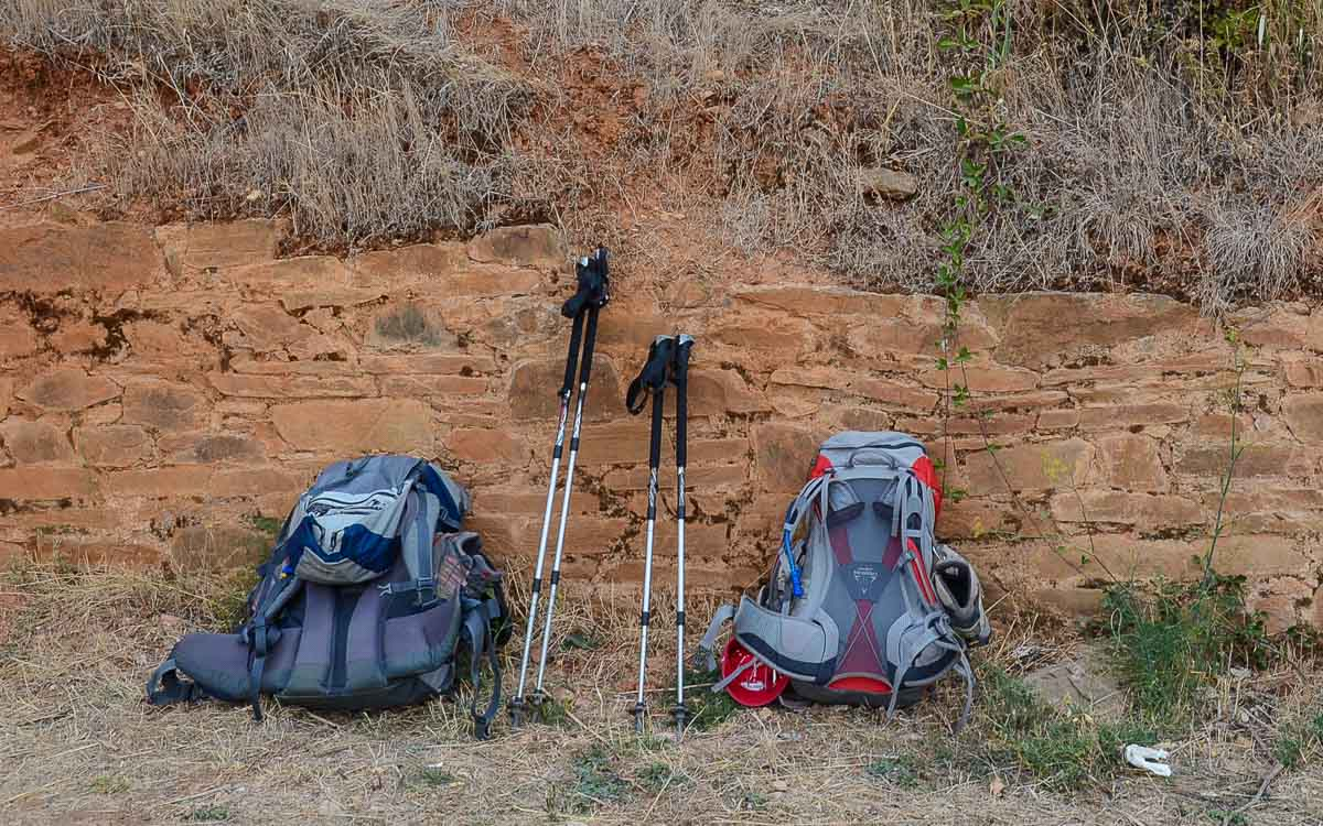 Camino Santiago Packing List The Camino De Santiago The Backpack Travel Past 50