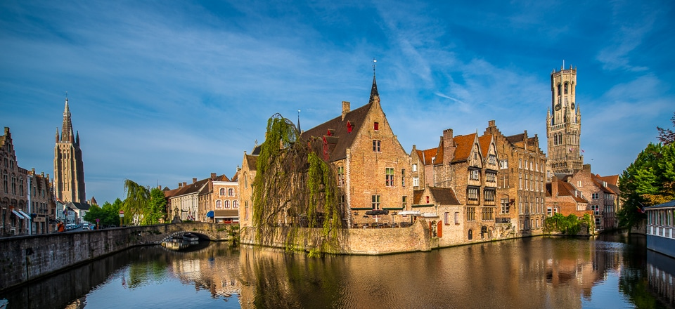 Hd Life Wallpapers Canal Intersection Bruges Belgium Travel Past 50