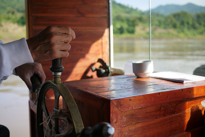 slow boat Mekong River