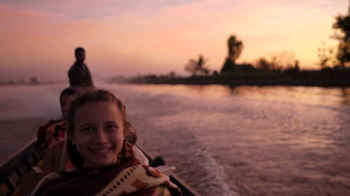 Sunset Inle Lake, Burma (Myanmar).