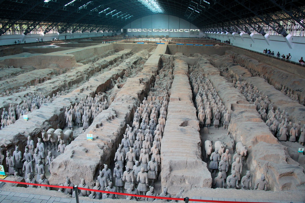 Terracotta Warriors (World's Biggest Jigzaw Puzzle) - Xi'an, China - Photo