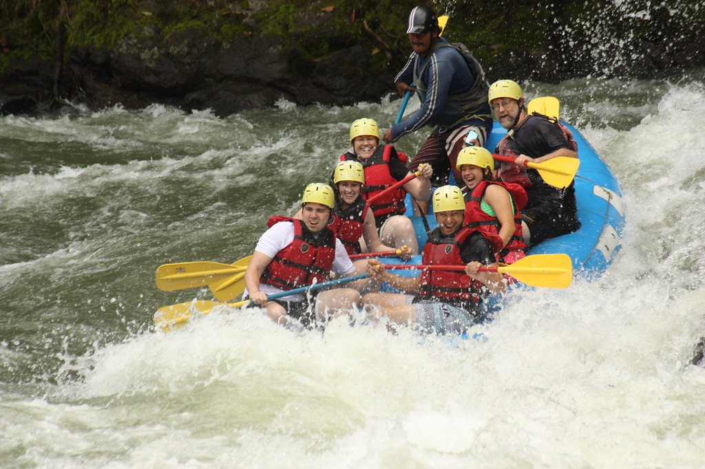 White Water Rafting - Pacuare River, Costa Rica - Photo