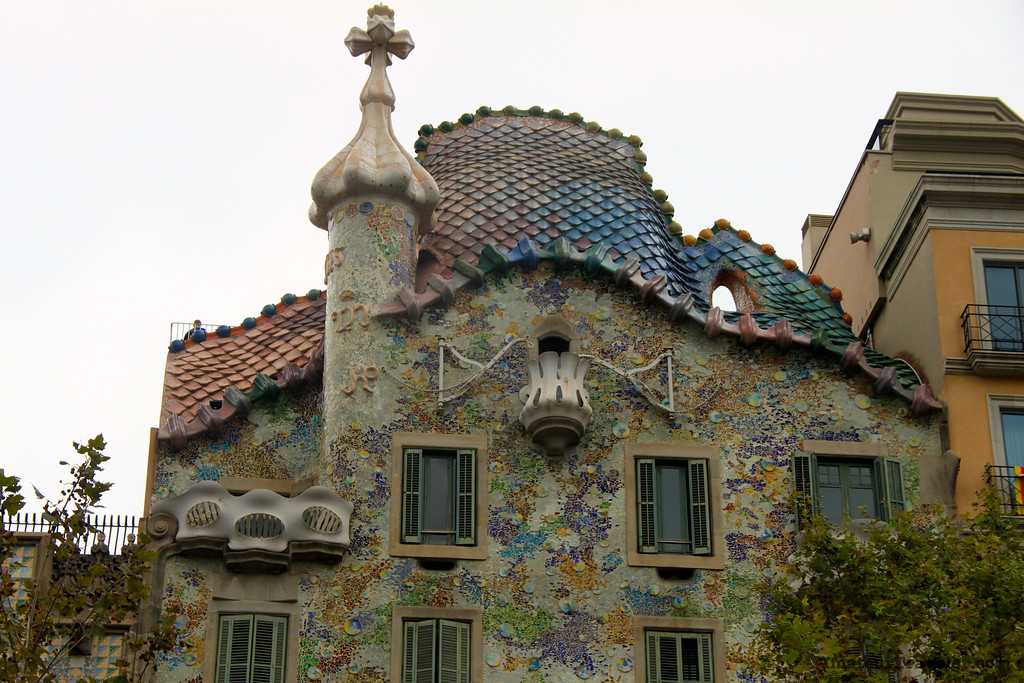 Casa Batlló by Gaudi - Barcelona, Spain - Photo