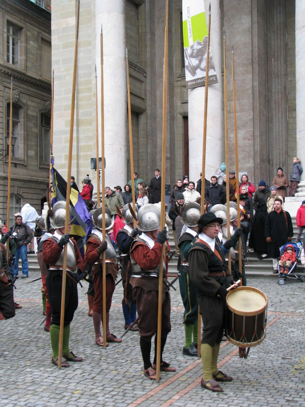 Pikemen at the Escalade - Geneva, Switzerland
