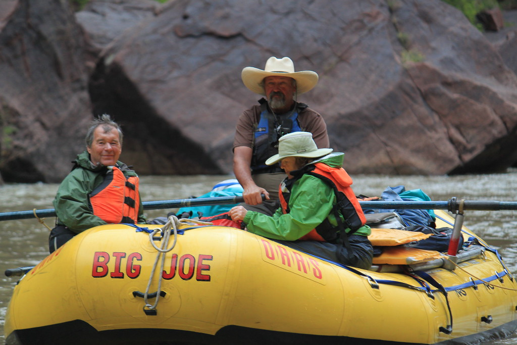 """Big Joe"" on the Green River - Dinosaur National Park, Colorado - Photo"