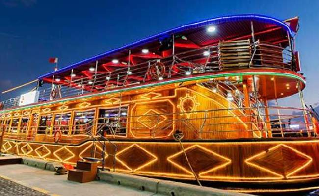 Luxury Dhow Cruise Creek 4 Star Buffet With Live Show Travel Point Llc