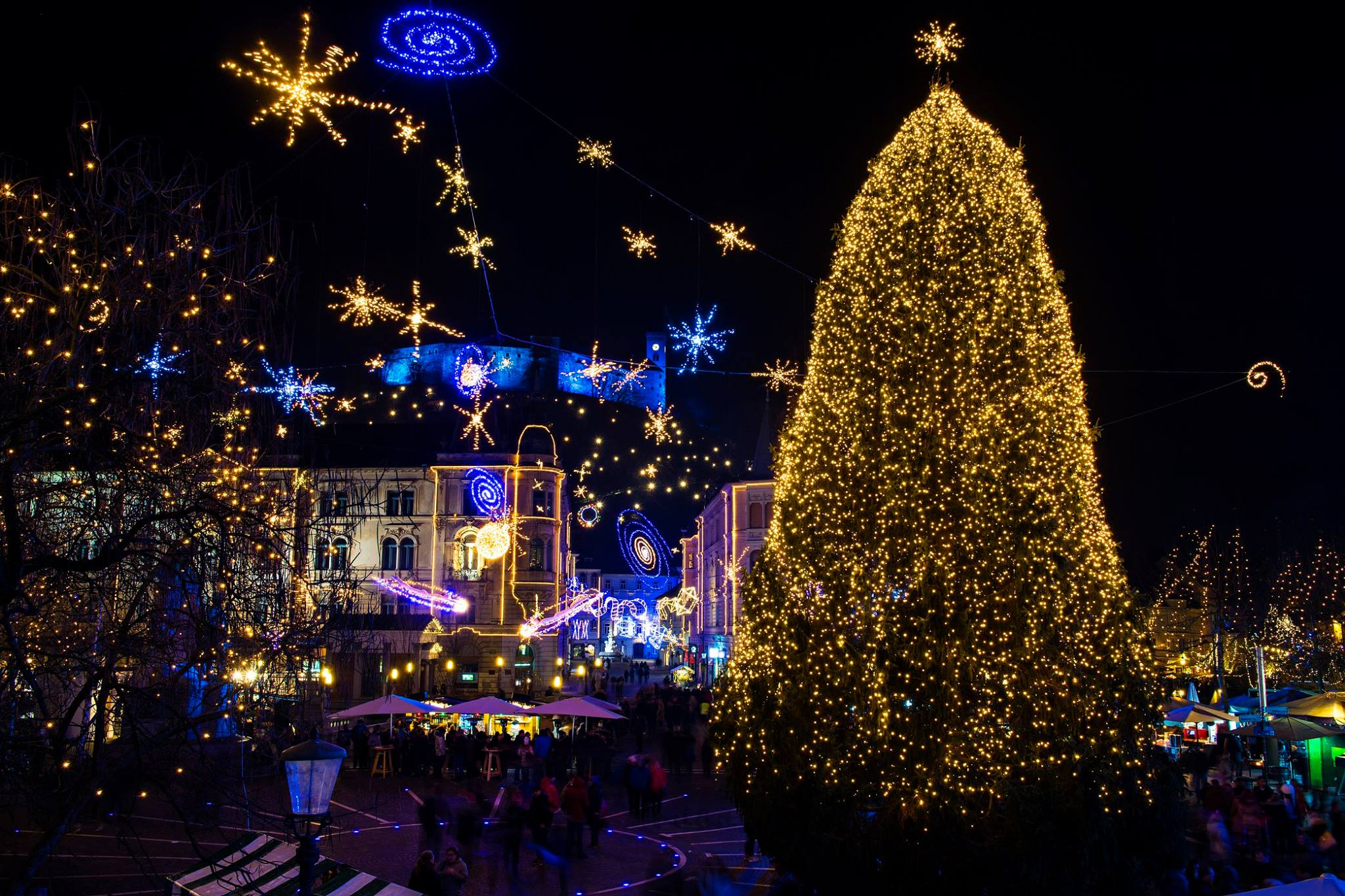 12 Magical Festive Photographs Of The Ljubljana Christmas