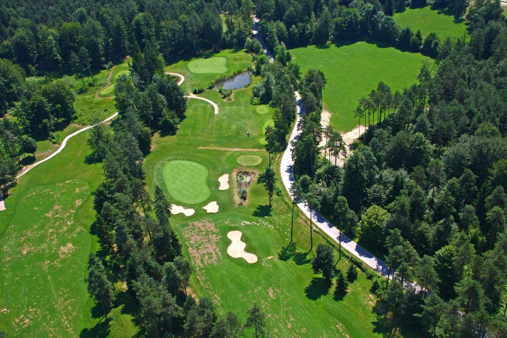 Most Compact Golf Buggy Arboretum Ljubljana Golf Course Golf In Slovenia