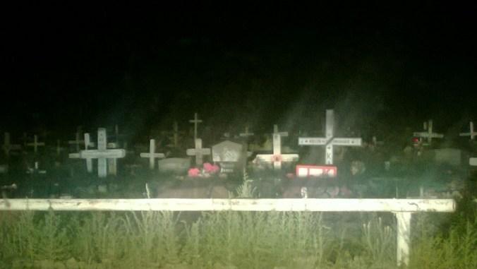 Sacagawea Cemetery - Road Trip through Wyoming
