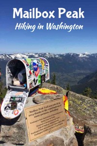 Mailbox Peak is a great Washington hike with incredible views. Check out this post with a full trip report and get started on planning your next hiking adventure! Pacific Northwest Hiking, Hiking Trails, Washington Hiking