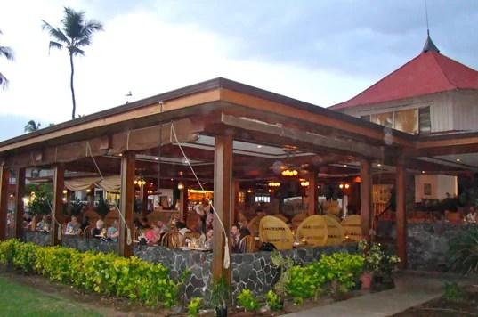 Kona Inn Cafe Grill Menu