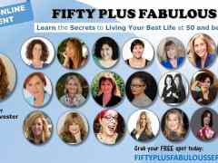 Fifty Plus Fabulous! A Free Event!