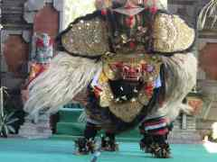 Touring Bali: The Barong and the Rangda
