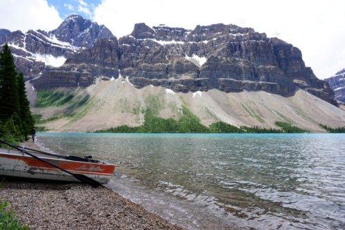 Bow Lake Canada Road trip