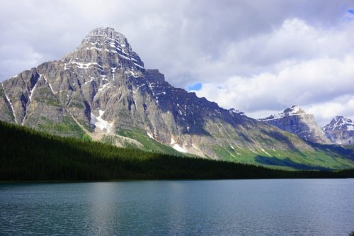 Mt Chepran and Waterfowl Lakes