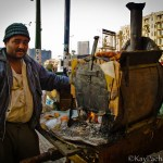 Friday Snapshot: Cairo sweets vendor