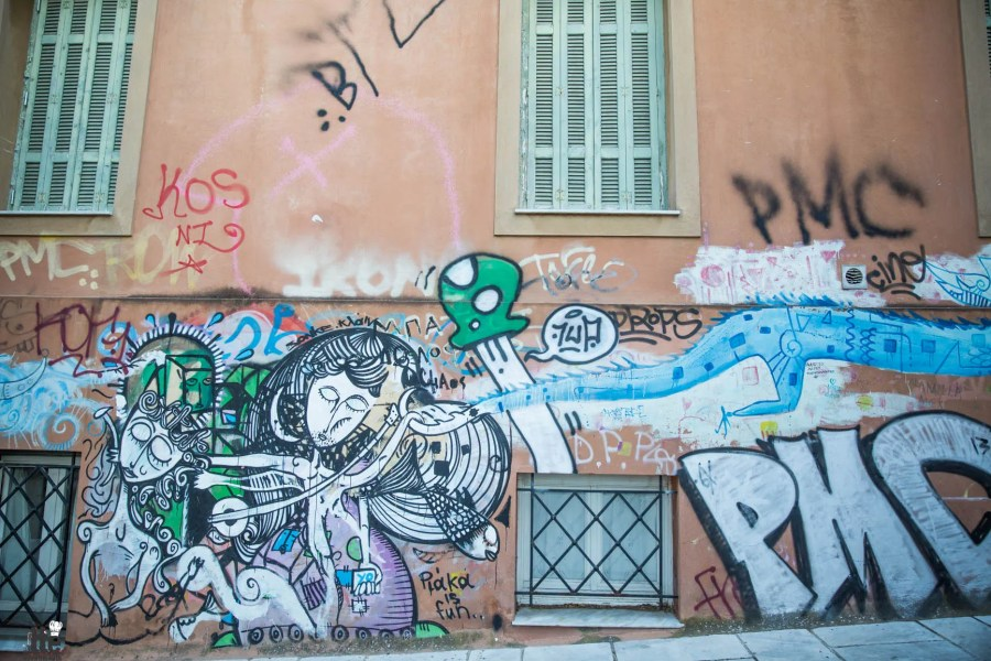 Street Art & Life in Plaka Greece-14