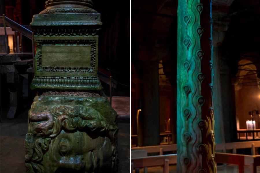 Basilica Cistern Turkey dy