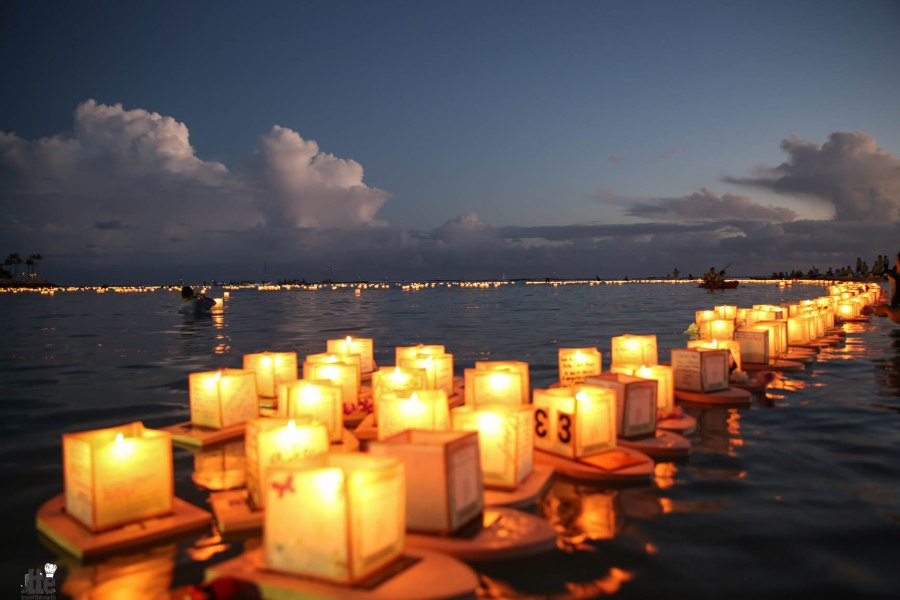 Floating Lantern Ceremony Honolulu Hawaii 2014 -10