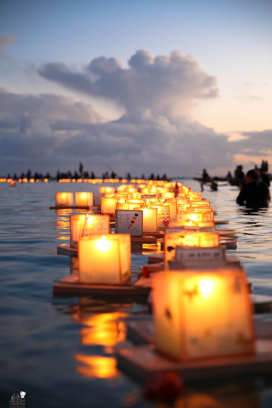 honolulu floating lantern ceremony photos 2014