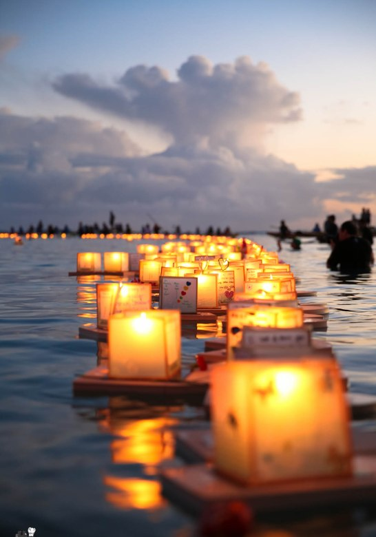 Floating Lantern Ceremony Honolulu Hawaii 2014 -9