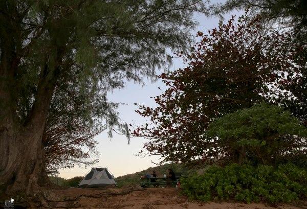 Kauai Camping guide Anini Beach Park-1
