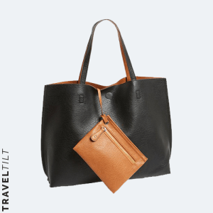 Nordstrom Street Level Reversible Faux Leather Tote