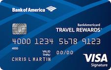 BankAmericard Travel Rewards Visa Signature
