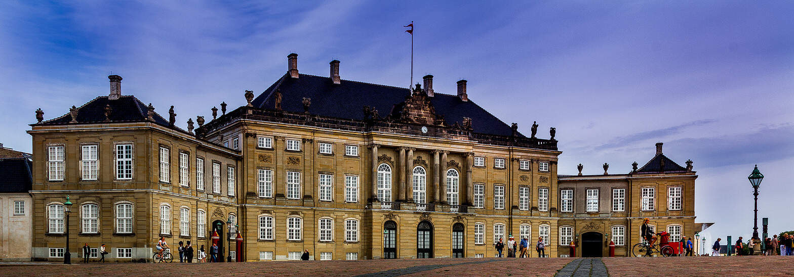 Amalienborg Royal Palace