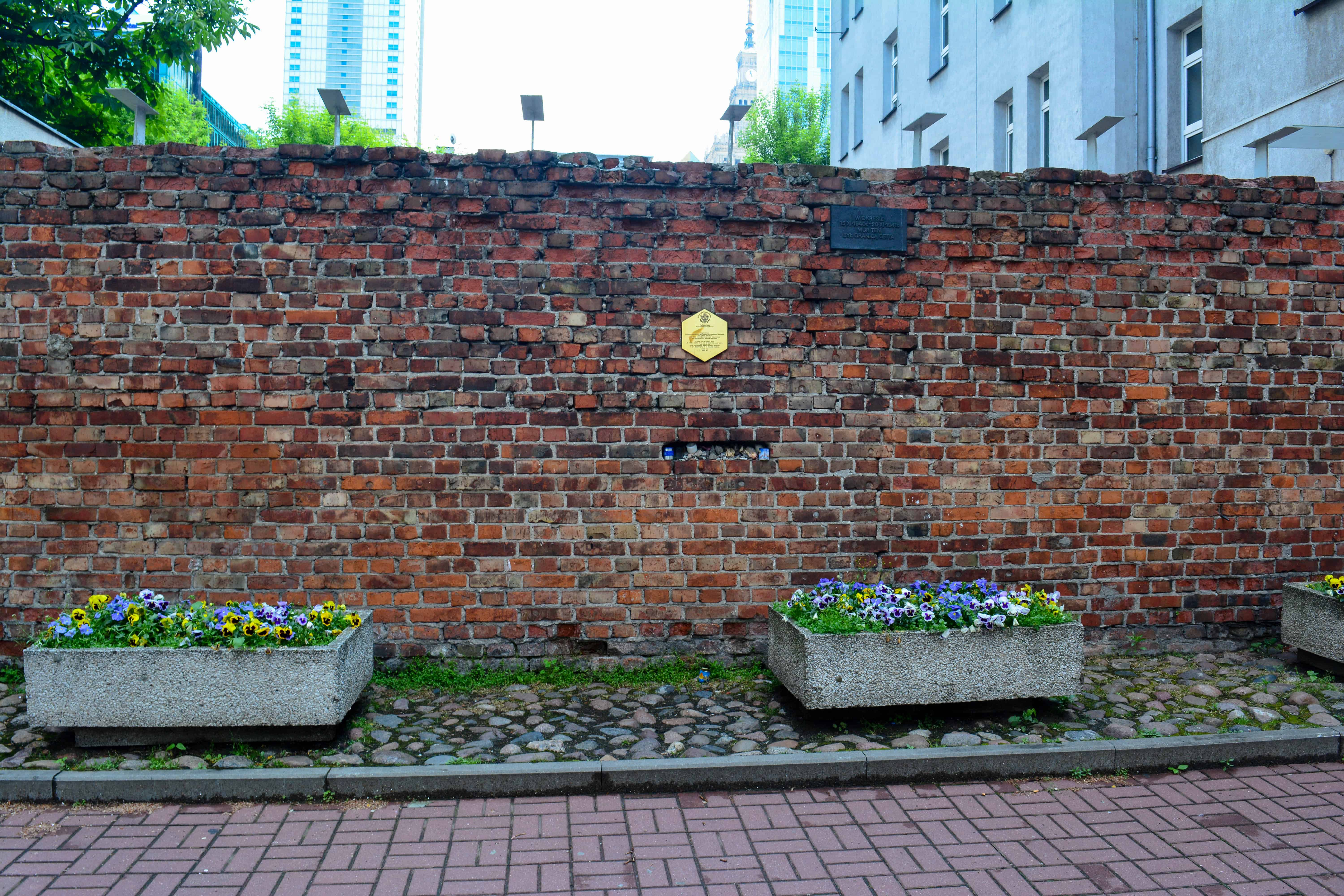 Ghetto Wall Fragment and Memorial