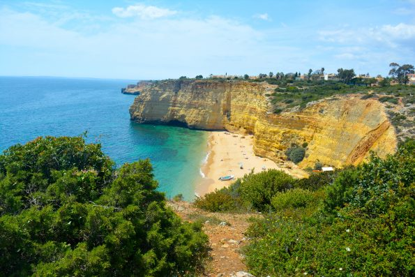 Explore the Caves of Carvoeiro, Portugal in 11.4 km