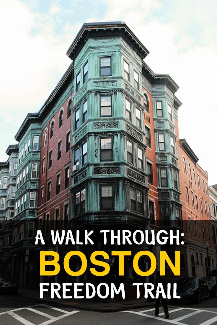 A walk through Boston Freedom Trail, USA