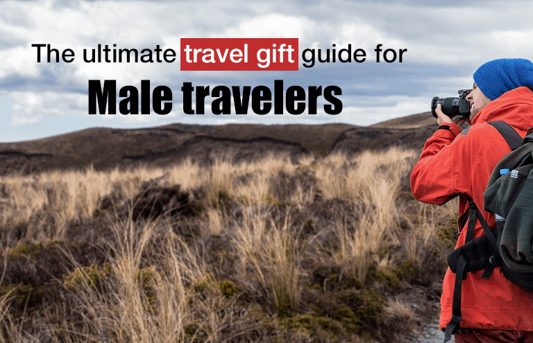 ultimate travel gift guide male