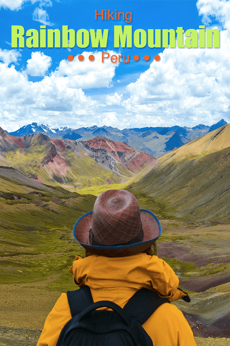 hiking rainbow mountain peru travel to blank travel guide