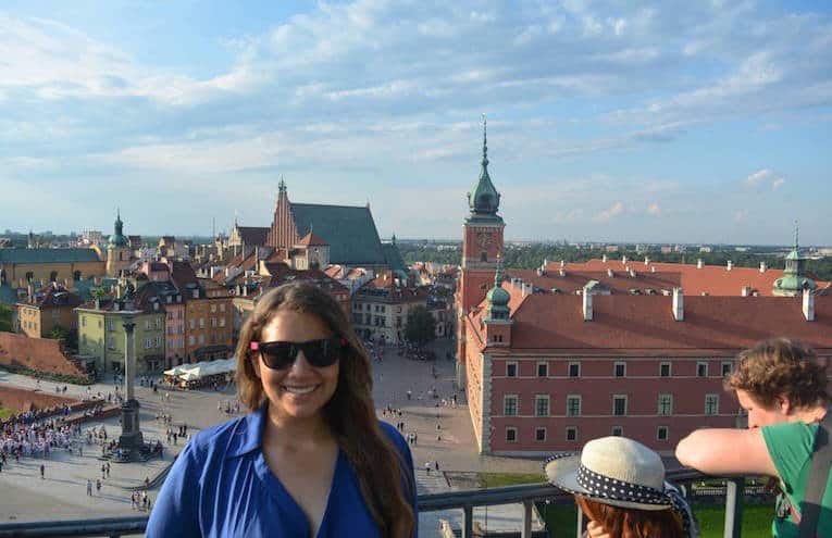 18km Walking Guide to Warsaw, Poland