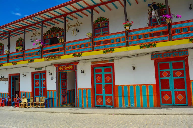 Exploring the colorful town of Jardín, Colombia