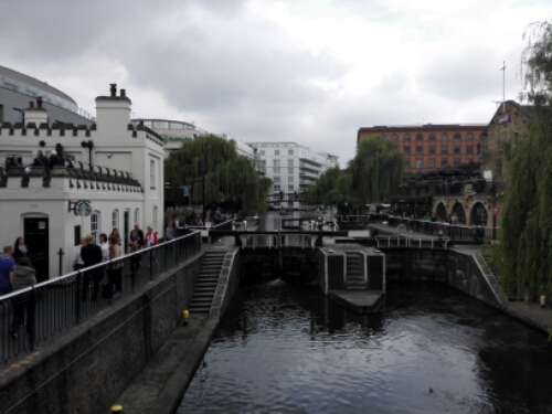 Camden Lock in Camden Town