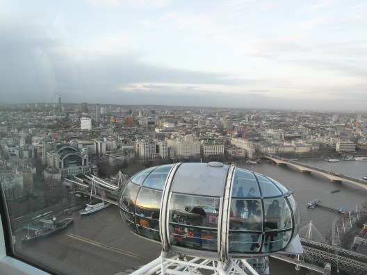 View of London from the London Eye