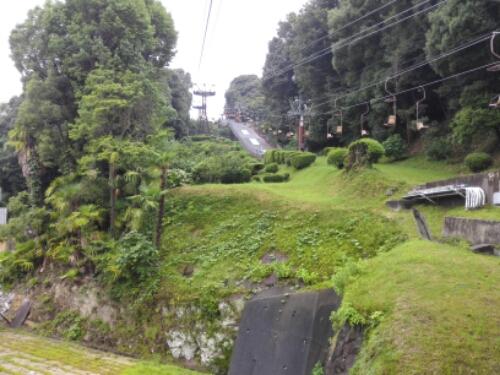 Ropeway to Matsuyama Castle