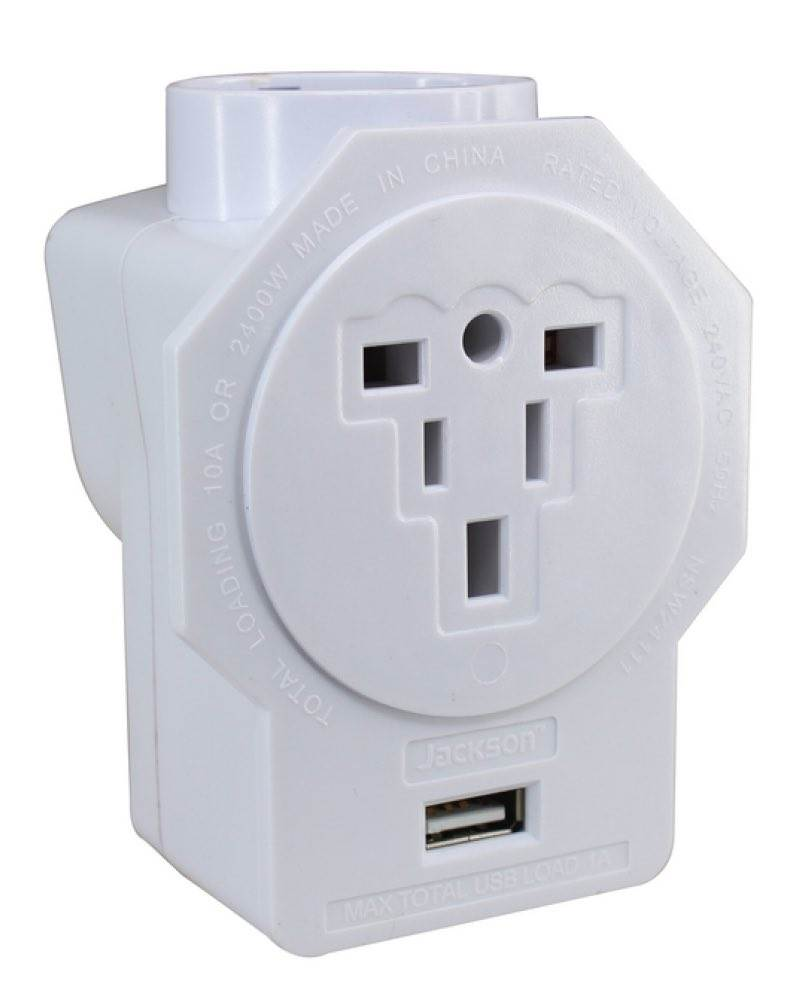 Australia Power Socket Inbound Au Travel Adaptor With Usb Outlet Suits Euro Usa And Uk Plugs Jackson