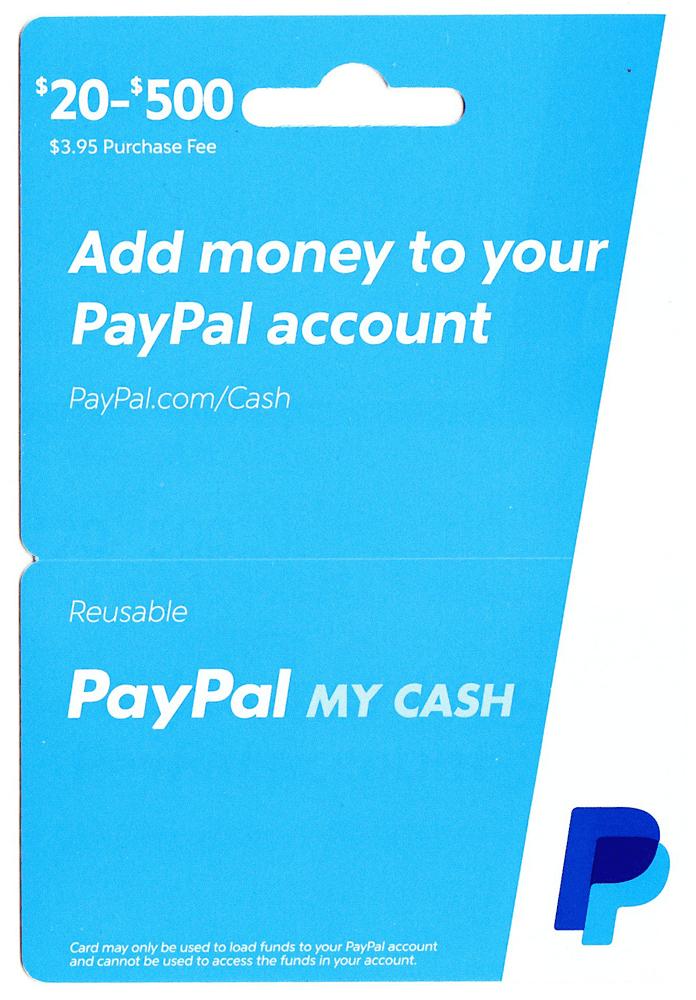 paypal gift card cvs