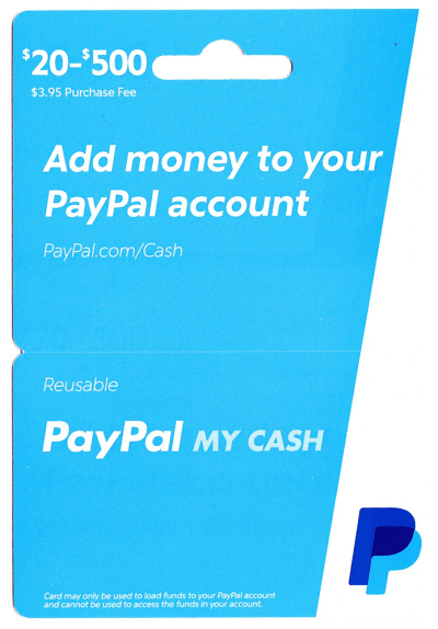 New PayPal My Cash Cards and Online Loading Process (Light Blue PPMCC 0215v1)