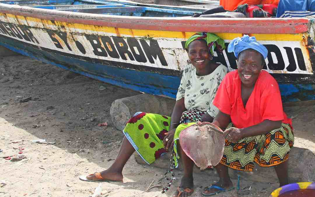 Smiles at Sanyang Fishing Village
