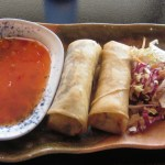 Norwegian Star Asian Fusion Spring Rolls
