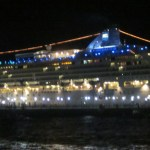 Travel Xena Norwegian Star at night - Travel Xena